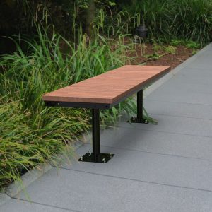 Wandin Straight Timber Bench