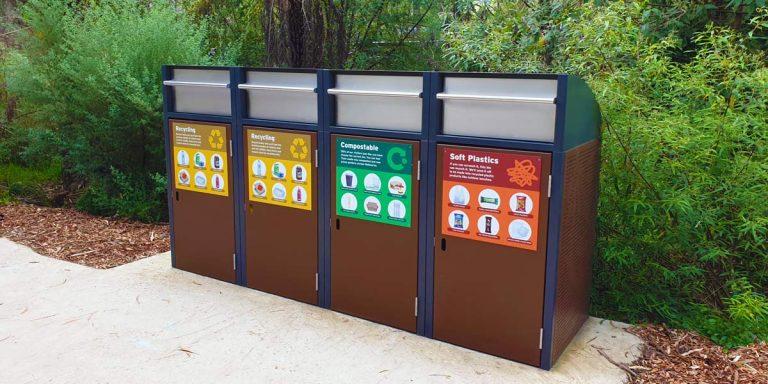 Healesville bins