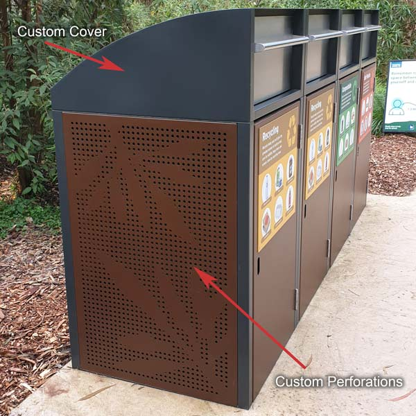 Healesville Bins - Features