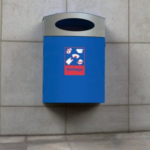 Wall Mounted Bin Enclosure