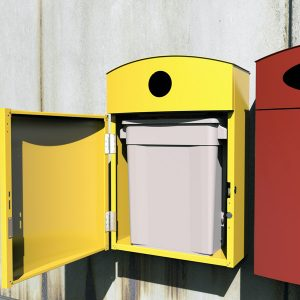 Wall Bin with liner