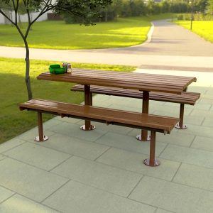 Airlie Picnic Table setting