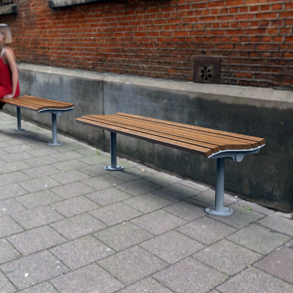 Airlie One Sided Bench