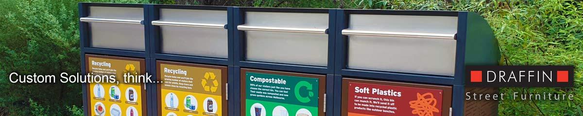 Healesville custom bins