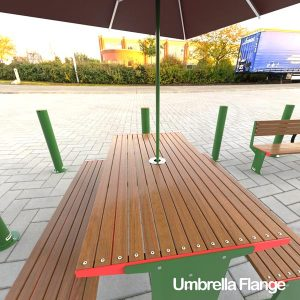 Outlines Umbrella Flange