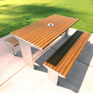 Heavy Duty Commercial Picnic Setting