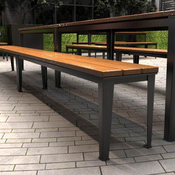 Glenelg slim Benches