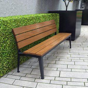 Glenelg Seat with Back