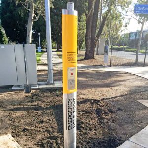 Monash Uni Emergency Help Point