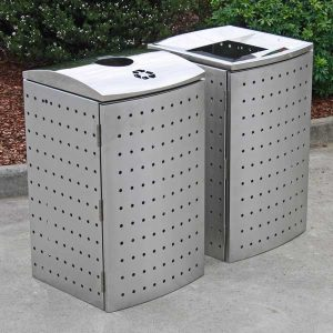 Perth Stainless Steel Bin Surround