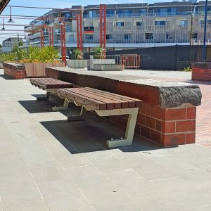 Mentone Station Benches