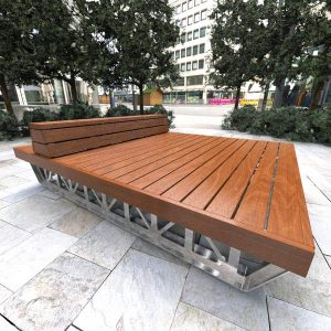 Monash University Movable Platform Bench