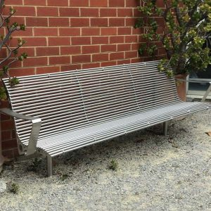 Monash Uni Stainless Steel Rod Seat