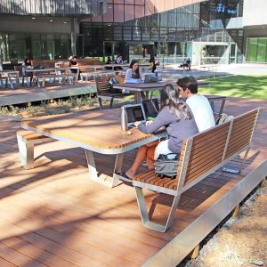 Monash University Plectrum table