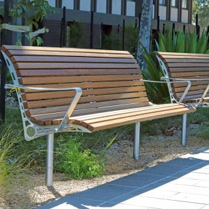 Monash Uni Seat with back