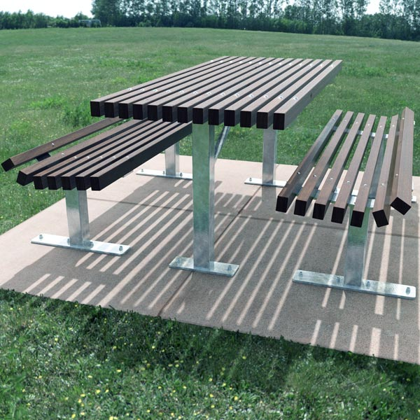 Knox table and bench setting