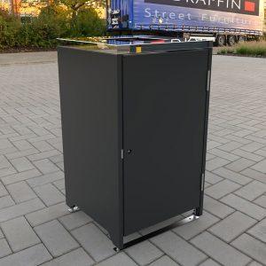Flat cover bin Surround