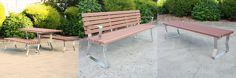 Kiama Freestanding Street Furniture